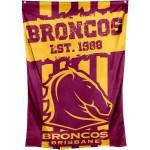 Brisbane Broncos Cape & Supporters flag size150x90cm