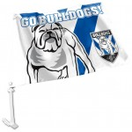 Canterbury Bulldogs Outdoor Car Flag 38x27cm