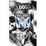 Canterbury Bulldogs Supporters Flag 150x90cm