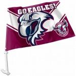 Manly Sea Eagles flag Outdoor Car Flag 38x27cm