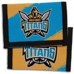 Gold Coast Titans NRL Velcro Wallets