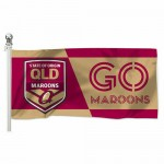 Queensland State of Origin NRL 180x90cm Outdoor Pole Flag.