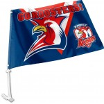 Sydney Roosters Car Flag 38x27cm