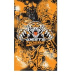 Wests Tigers Supporters Flag 150x90cm