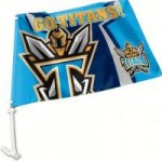 Gold Coast Titans Car Flag 38x27cm