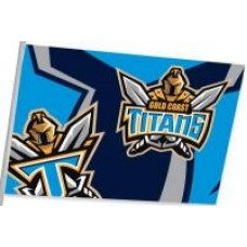 Gold Coast Titans Medium Flag 90x60cm