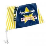 Nth Queensland (Cowboys) car flag 38x27cm