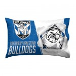 Canterbury Bulldogs NRL Single Pillowcase