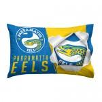Parramatta Eels NRL Single Pillowcase