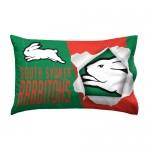 South Sydney Rabbitohs NRL Single Pillowcase