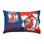 Sydney Roosters NRL Single Pillowcase (FREE POSTAGE)