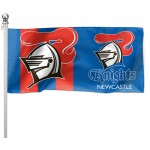 Newcastle Knights Outdoor Flag 1800mm x 900mm