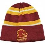 Brisbane Broncos NRL Wozza Beanie