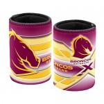 Brisbane Broncos NRL Team Beer Can/Bottle Stubby Holder Cooler