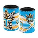 Gold Coast Titans NRL Team Beer Can/Bottle Stubby Holder Cooler