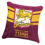 Brisbane Broncos NRL Heritage Cushion