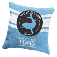 Cronulla Sharks NRL Heritage Cushion