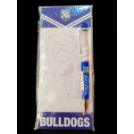 Canterbury Bulldogs NRL combo pen and shopping list