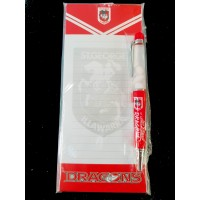 St George Dragons NRL combo Pen and shopping list