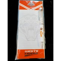 Wests Tigers combo Pen and shopping list