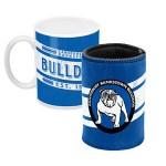 Canterbury Bulldogs NRL Mug and Can Cooler Heritage Gift Pack