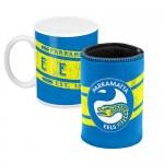 Parramatta Eels NRL Mug and Can Cooler Heritage Gift Pack