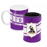 Melbourne Storm NRL Mug and Can Cooler  Heritage Gift Pack