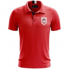 St George DRAGONS 2019 Men's Grid Performer Polo