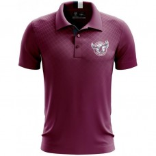 Manly SEA EAGLES 2019 Men's Grid Performer Polo