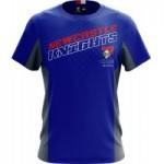 Newcastle Knights 2019 Men's Grid T-Shirt NRL