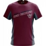 Manly Sea Eagles 2019 Men's Grid T-Shirt NRL