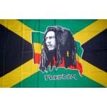 Bob Marley Flag 150 x 90cm