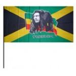 Bob Marley Hand Flag 30x45cm