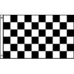 Checkered (smaller) size flag 60x90cm