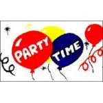 Party Time Flag 150 x 90cm