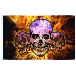 Pirate DEADLY TRIO Large Flag 150 x 90 cm