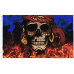 Pirate PIECES OF EIGHT Large Flag 150 x 90 cm