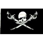 Pirate (New) Brethren of the Coast Large Flag