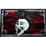 Pirate (New) Iron Skull Large Flag