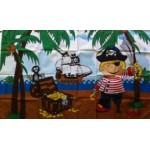 Pirate (New) Island Boy Large Flag