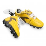 Hawthorn Hawks AFL Hanging Suction Footy Boots * Stick anywhere!
