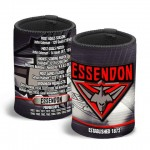 Essendon Bombers AFL Team Song Can Cooler