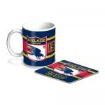 Adelaide Crows AFL Mug and Coaster Pack