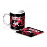 Essendon Bombers AFL Mug and Coaster Pack