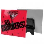 Essendon Bombers AFL Mini Glass Clock