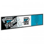 Port Adelaide POWER AFL Rubber Back Bar Runner