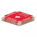 Sydney Swans AFL Team Logo Pack OF 4 Bar Accessory Coasters
