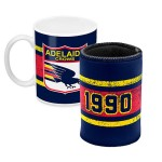 Adelaide Crows AFL Mug and Can Cooler Pack