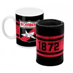 Essendon BOMBERS AFL Mug and Can Cooler Pack