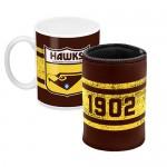 Hawthorn HAWKS AFL Mug and Can Cooler Pack